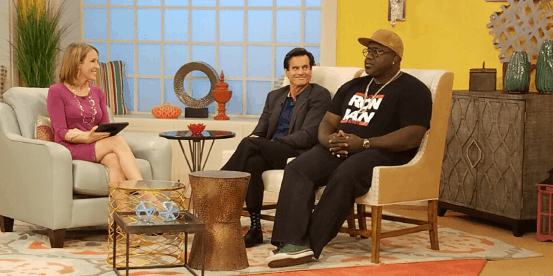 image of Dr. Lox and Ian Beckles on NBC Daytime with Cindy Edwards