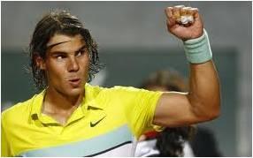 Rafael Natal in victory pose