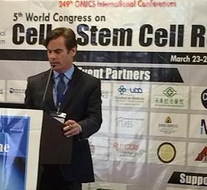 Dr. Lox an internationally renown Sports and Regenerative Medicine