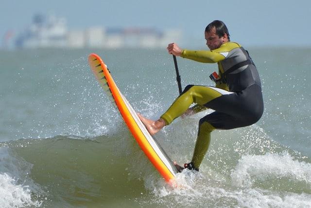 Surfer Doing Great After Knee Stem Cells