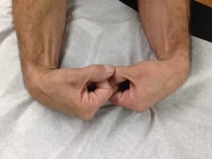 Hand position may cause sleep numbness.