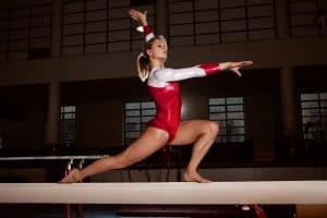 Gymnast with shoulder labral tear, Dr. Lox