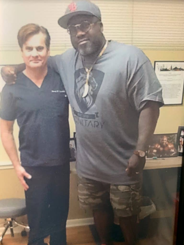Dr. Lox and Ian Beckles