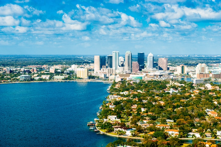 picture of tampa bay city skyline home to brandi winans