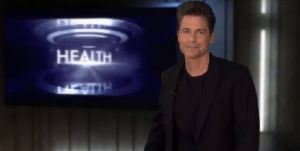 Rob Lowe on informed talking about stem cell therapy