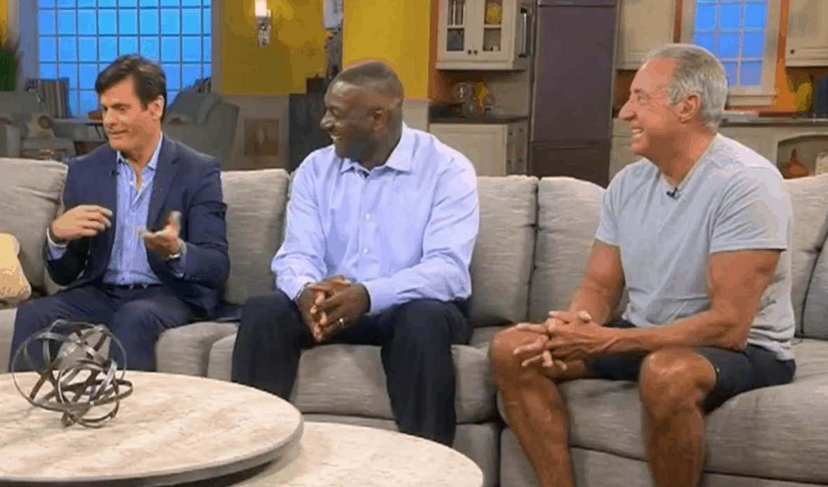 dennis m lox md on nbc with ron diaz and derrick brooks