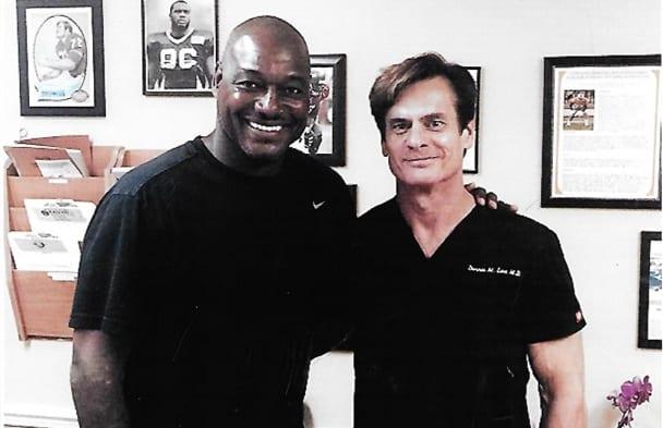 Derrick Brooks and Dr Lox