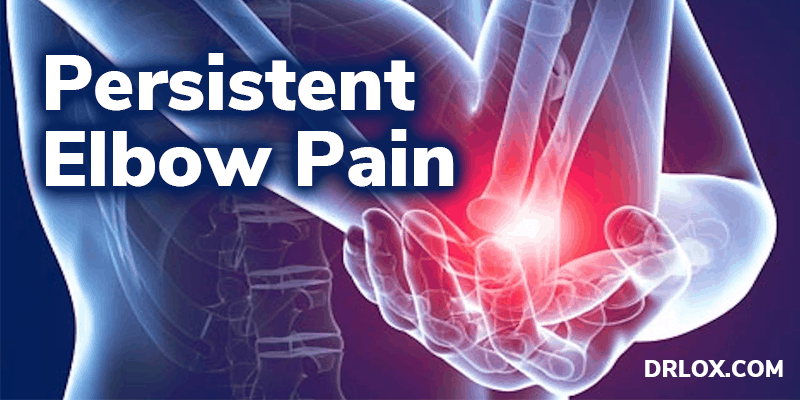 persistent elbow pain